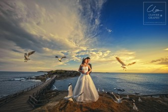 Sydney Wedding Pre-Wedding Photographer Clovergraphy 悉尼婚纱摄影 三叶草视觉 (6)