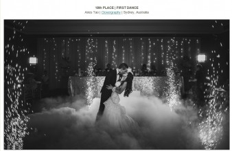 18th PLACE – FIRST DANCE