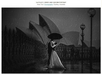 3rd PLACE – BRIDE AND GROOM PORTRAIT